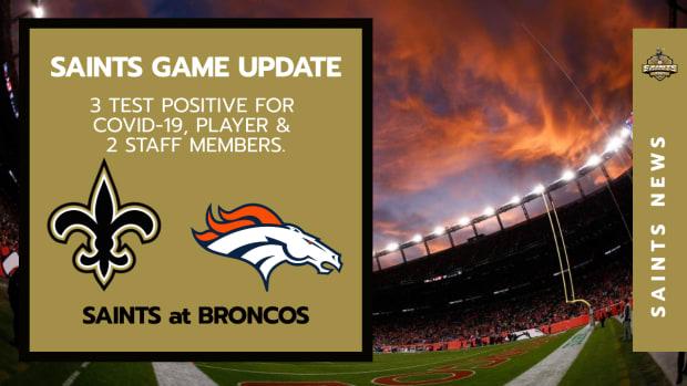 Saints at Broncos
