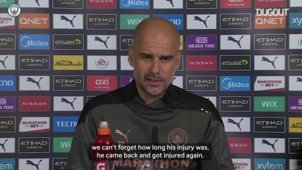 Pep Guardiola: I've never found a big star like Sergio Agüero