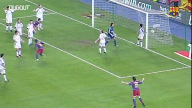 Samuel Eto'o's Top 3 goals against Osasuna