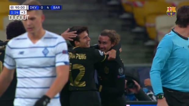 Griezmann's goal vs Dynamo Kyiv