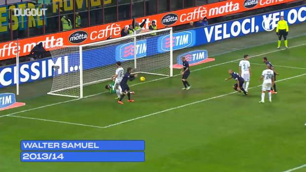 Inter's top 5 goals against Sassuolo