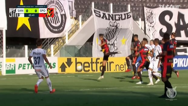 Highlights: Santos 4 x 2 Sport Recife