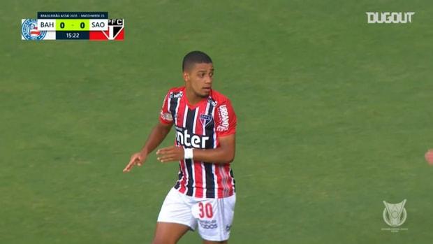 Highlights: Bahia 1 x 3 São Paulo