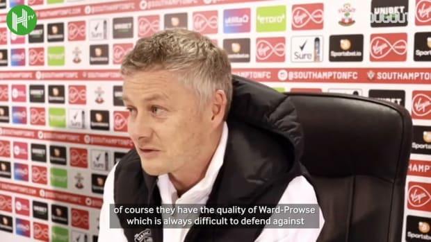 Solskjær compares Cavani to Andy Cole after Southampton brace