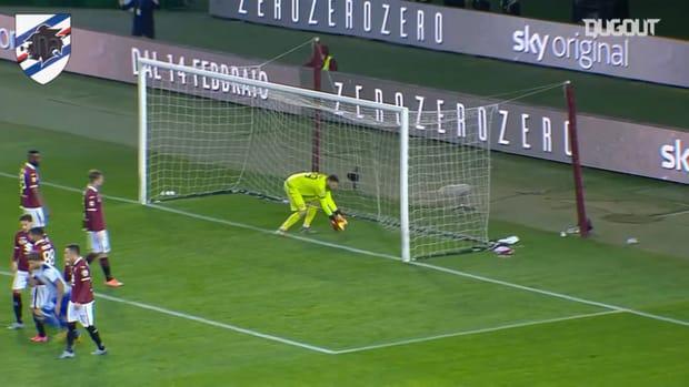 Sampdoria's best 3 away goals against Torino