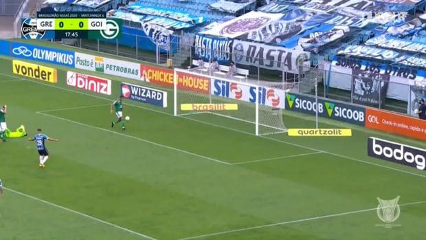 Highlights Brasileirão: Grêmio 2-1 Goiás