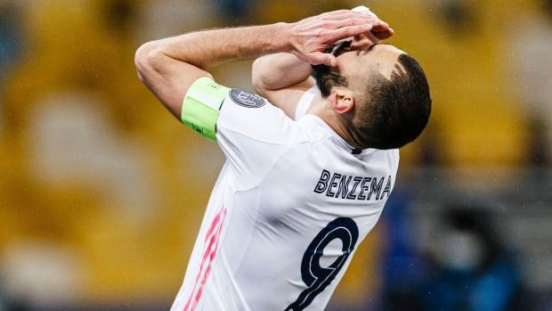 Karim Benzema and Real Madrid lose to Shakhtar Donetsk