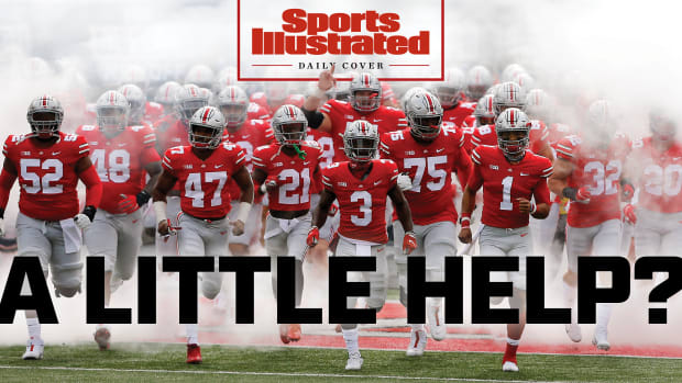 Daily Cover: Ohio State football runs out of the tunnel