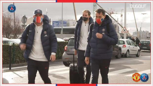 Paris Saint-Germain travel to Manchester