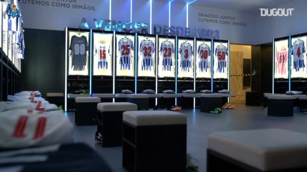 Behind the scenes of FC Porto draw vs Manchester City