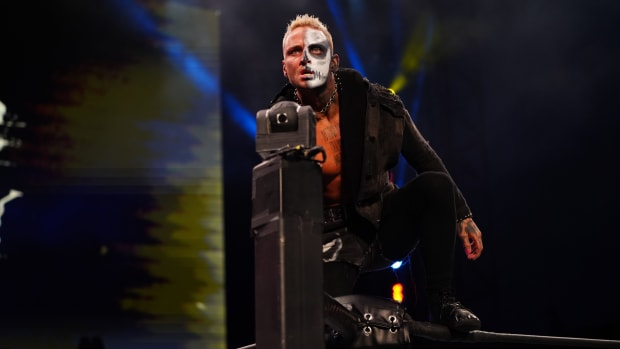AEW's Darby Allen makes his entrance