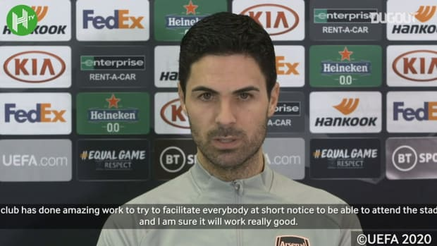 Arteta on fans returning to the Emirates and Thomas Partey latest