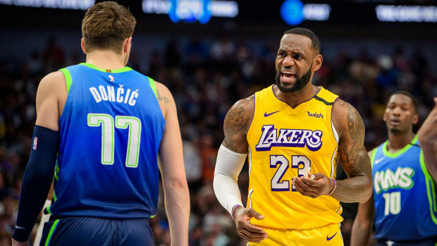 LeBron James vs. Luka Doncic