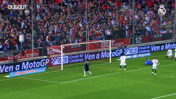 Karim Benzema likes scoring against Sevilla