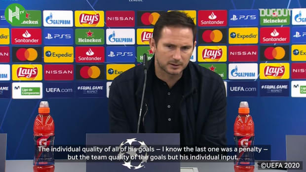 Lampard hails Giroud after four-goal display vs Sevilla