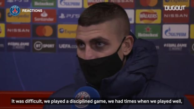 Marco Verratti: '  It was a deserved victory, we had a big performance, we are happy. '