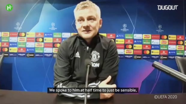 Solskjær thought about replacing Fred at half-time