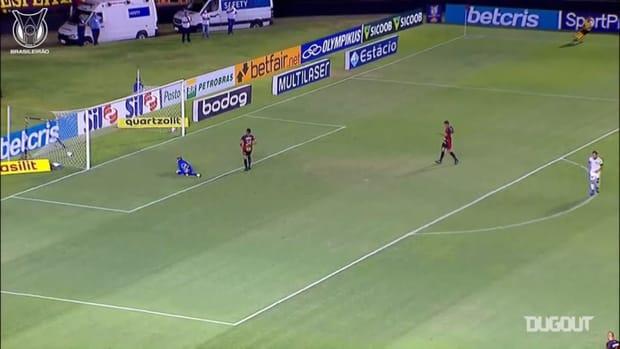 Keisuke Honda's left-foot screamer against Sport Recife
