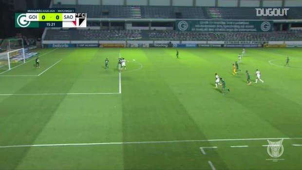 Highlights Brasileirão: Goiás 0-3 São Paulo