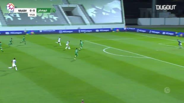 Highlights: Khorfakkan 1-1 Sharjah