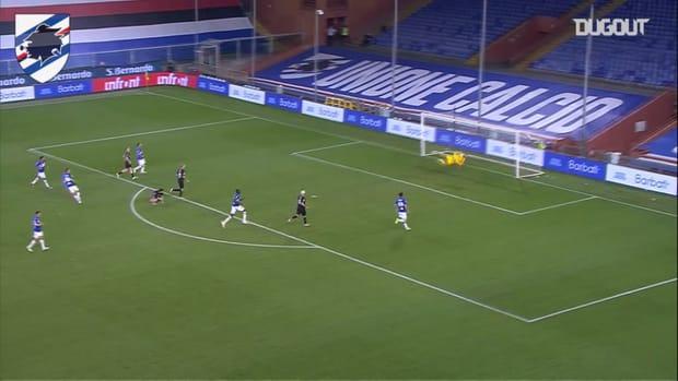 Sampdoria's best home goals vs AC Milan
