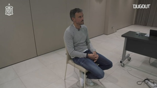 Luis Enrique: 'I wanted to draw Italy'