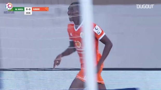 Highlights: Ajman 2-3 Al-Wasl