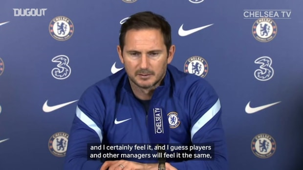 Lampard looking forward to seeing fans again