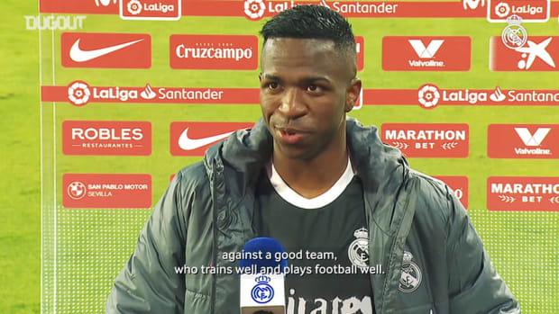 Vinicius Jr.: 'Winning is always important'