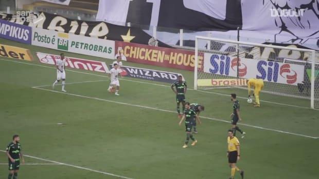 Santos draw against Palmeiras at Vila Belmiro