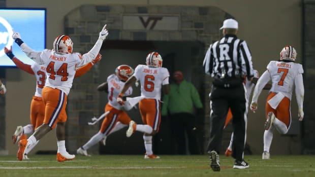 Clemson vs Virginia Tech football 206