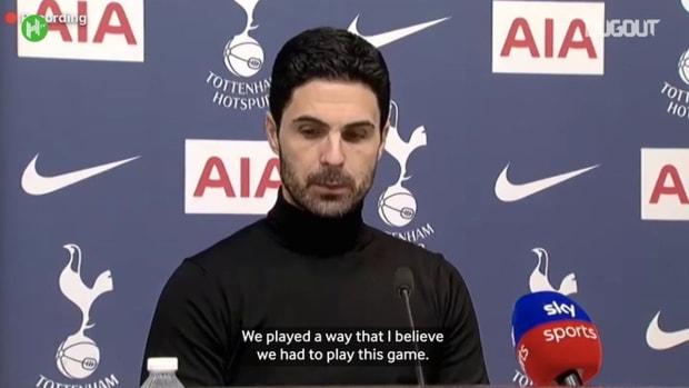 Arteta: Arsenal need to score goals to turn form around