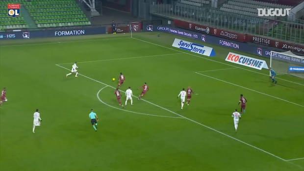 Olympique Lyonnais amazing team goal vs Metz