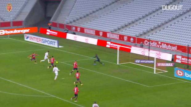 Pietro Pellegri's first 2020-21 goal