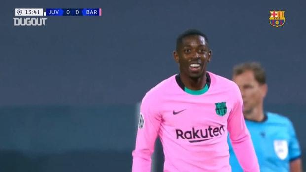 Ousmane Dembélé's great goal vs Juventus