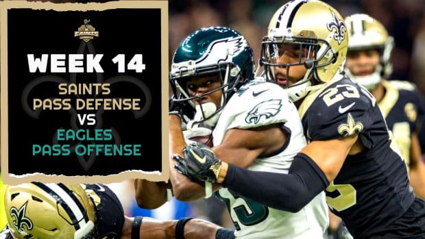Saints Defense vs. Eagles Offense