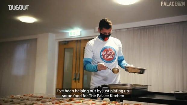 Joel Ward visits the Palace Kitchen