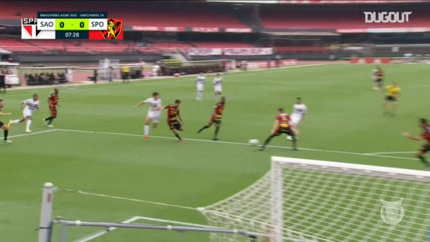 Highlights Brasileirão: São Paulo 1-0 Sport Recife