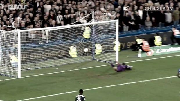 Reece James' goals for Chelsea so far
