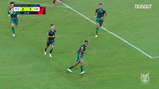 Marcos Paulo's Brasileirão goals in 2020 so far