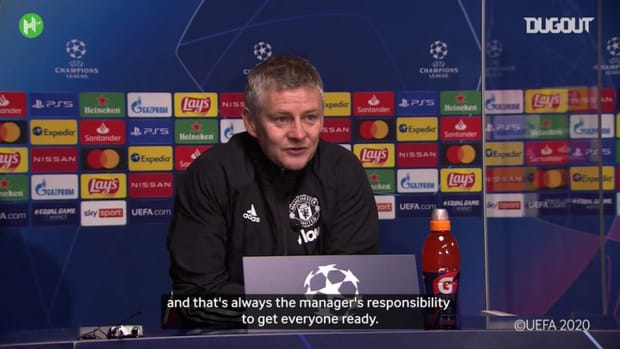 Solskjaer takes responsibility for Man United's Champions League exit