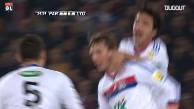 Olympique Lyonnais last win at Parc des Princes