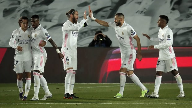 Real Madrid wins its Champions League group