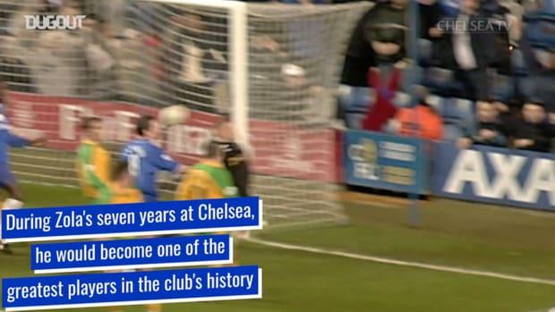 How Gianfranco Zola became a Chelsea legend