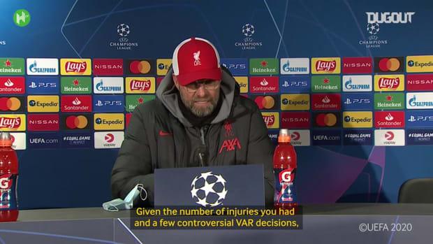 Klopp discusses Liverpool's season so far