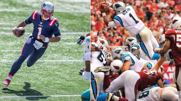 cam-newton-career-rushing-touchdowns-patriots-panthers