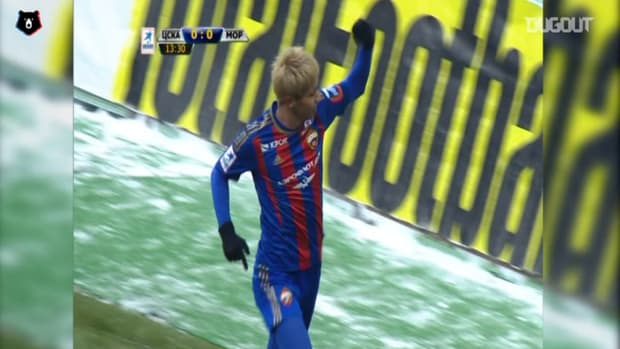Keisuke Honda's great display against Mordovia Saransk