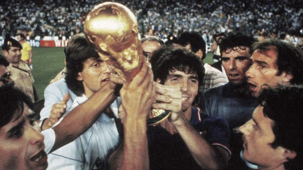 Paolo Rossi and Italy won the 1982 World Cup
