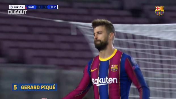 FC Barcelona's best Champions League group stage goals 2020-21