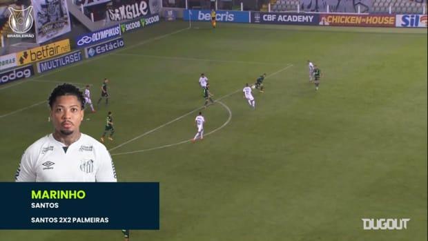 Brasileirão's top three goals of matchweek 24